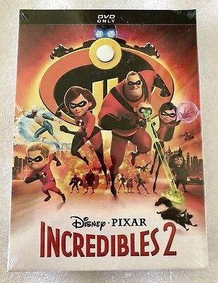 The incredibles 2 dvd (Hardcase Edition)