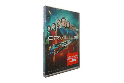 The Orville Season 1 (DVD, 4-Disc Set) Free Shipping