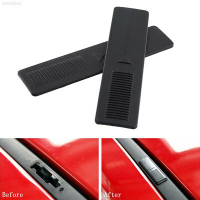 1FC2 2x Replacement Roof Rack Clip Rail Moulding Dustproof Cover For Mazda 2