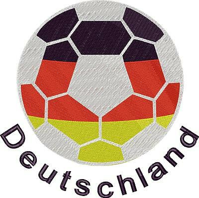 Stickmuster/Datei - Embroidery Fußball Nr.02
