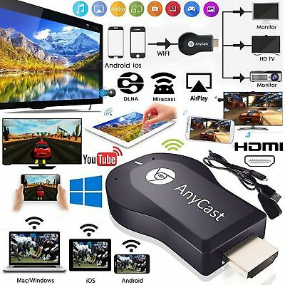 M4 ANYCAST TV MIRACAST HDMI DONGLE MEDIA VIDEO STREAMER AIRPLAY WIFI IOS Android