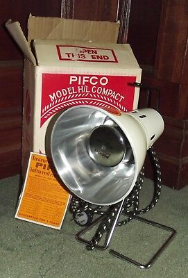Pifco Infra Red Health Lamp Model H/l Compact