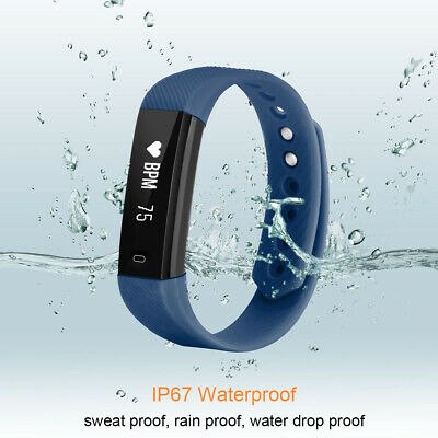 Diggro T20 SMART FIT WATCH ACTIVITY STEP Heart Rate TRACKER BRACELET WRISTBAND