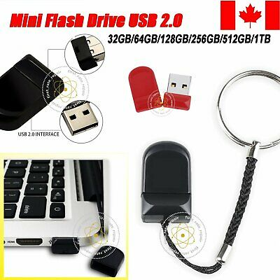 Mini USB Flash Drive Memory Stick Pen Drive For PC Tablet 32/64/128/256/512GB 1T