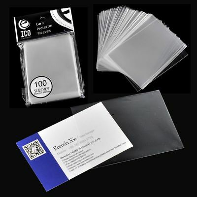 Board Game ID Holders Card Sleeves Clear Dustproof Transparent CPP Matrial
