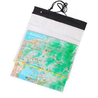 Waterproof Bag Map Transparent Camping Hiking Riding Portable Universal Case