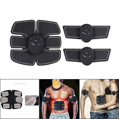 Muscle ABS Stimulator Training Gear Ultimate Trainer Fit Body Exercise Belt AC