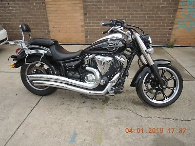 Yamaha Xvs950 Star 2011 Clean 5780 Kms Twin Black Cruiser Custom