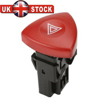 For Vauxhall Vivaro Trafic Renault Laguna Hazard Warning Light Switch -93856337
