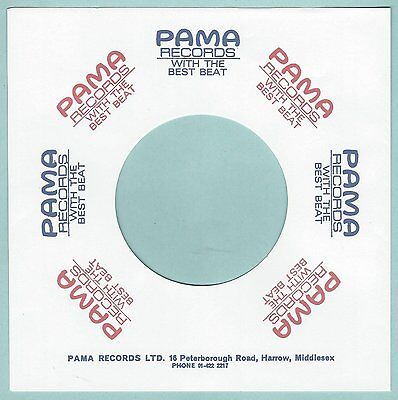 PAMA REPRODUCTION RECORD COMPANY SLEEVES - (pack of 10)