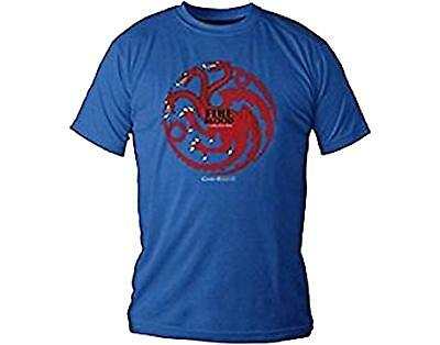 Game Of Thrones - Targaryen Fire And Blood - Official Mens T Shirt