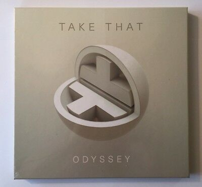 """Take That """"Odyssey"""" 2xCD Deluxe Limited Edition Box Set"""