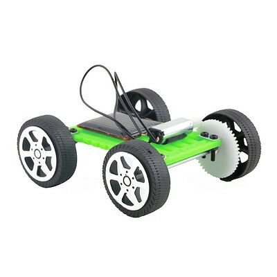 Kids' Solar Powered Electric Motor Kit Car Educational Gadget DIY Robot Toys UK