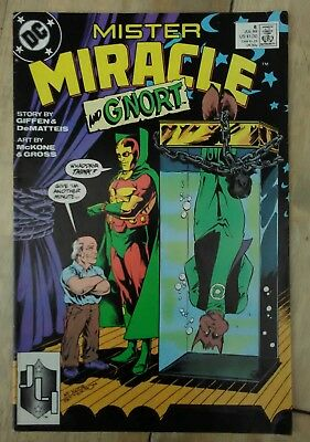 Mister Miracle #8 1989 VF DC Justice League Comics Blue Beetle Combined P&P