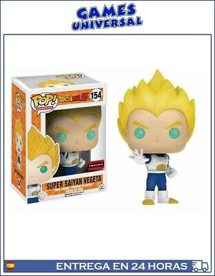 Funko Pop Dragon Ball Z Super Saiyan Vegeta Exclusive