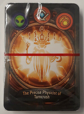 Keyforge Deck The Precise Physicist Of Tarncrush Sealed with Box