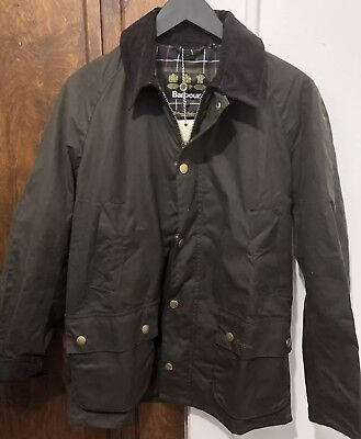 NWT Men's Barbour Sylkoil Ashby Jacket - Size Small - Olive - MSRP $399