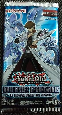 Yu-Gi-Oh Booster Duellistes Légendaires : Le Dragon Blanc des Abysses VF FR NEUF