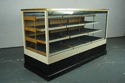 20er Antik Ladenvitrine Ladentheke Schubladenschrank Ladentisch Regal 30er