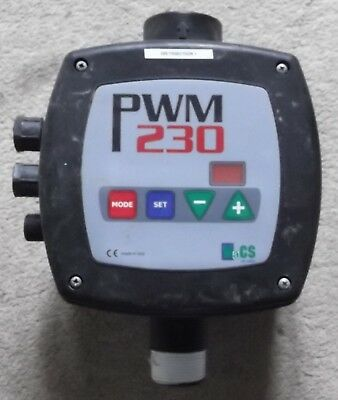WaCS PWM 230 Bore Hole Well Drinking Water Electric Flow Controller Free UK P&P