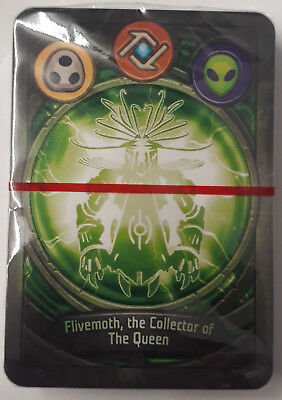 Keyforge Deck Flivemoth, The Collector Of The Queen Sealed with Box