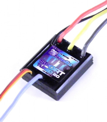 Mtroniks AUTO SPORT 20 Tuned Speed Controller Brushed Waterproof Car 20A ESC