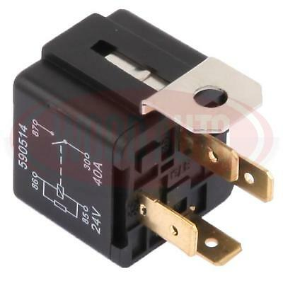 Wood Auto High Performance Relay Switch 24V 40A 4 Terminal With Bracket Rly1069