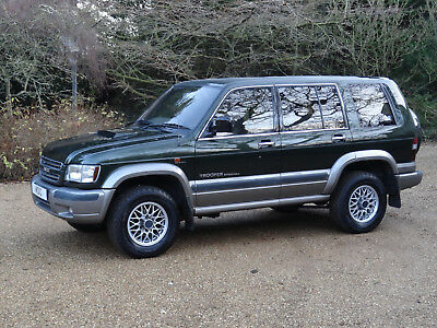 Isuzu Trooper 3.0 Diesel Citation Full Service History Manual LWB 4WD 7 Seats