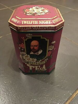 Heroes Shakespeare Tea Caddy (Empty) Upcycling