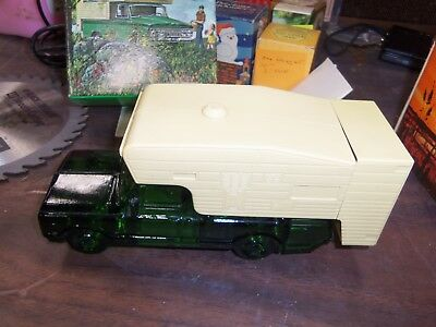 Vintage Avon The Camper Decanter Deep Woods After Shave & Talc Full NOS
