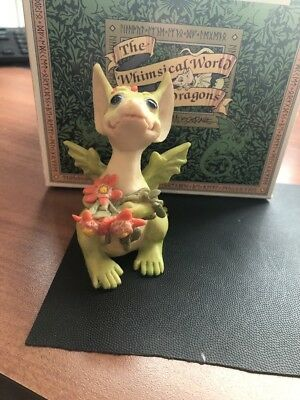 Pocket Dragons by Real Musgrave - Mint In Box - PD 512 - Flowers For You Free Sh