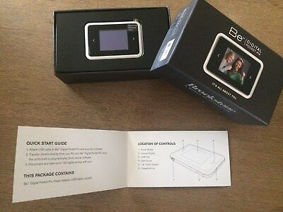 "Brookstone - Be Digital Pocket Pictures - 1.8"" LED screen - 180 photos"