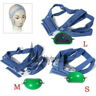 Dental Orthodontic High - Pull Headgear With Rigid Chin Cap High Pull Strap