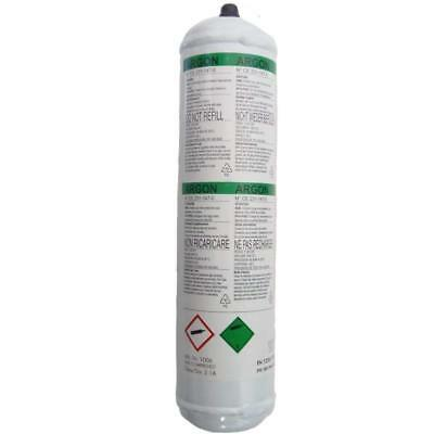 Argon Pure Disposable Welding Mig Gas Bottle Welders 1369 60 L Litre
