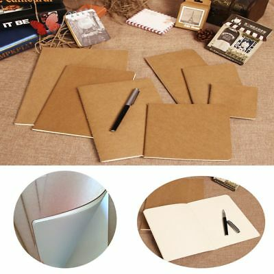 Journal Travel Office Supplies Cowhide Blank Writing Paper Notepad Notebook
