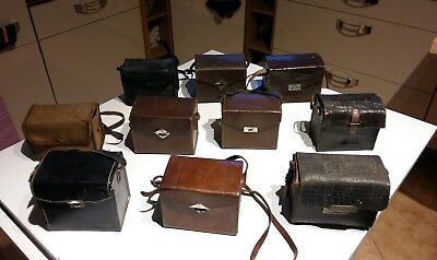 10 Alte  Fotoapparate -Boxen- Front-Box ,Balda-Rollbox-Agfa☆☆☆mb494