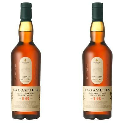 Lagavulin 16 Years Jahre Single Malt Whisky Scotch 2er Alkohol Flasche 43% 700ml