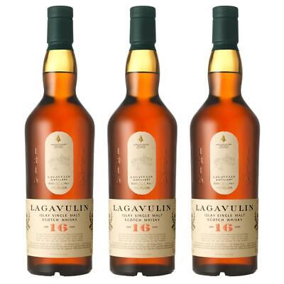 Lagavulin 16 Years Jahre Single Malt Whisky Scotch 3er Alkohol Flasche 43% 700ml
