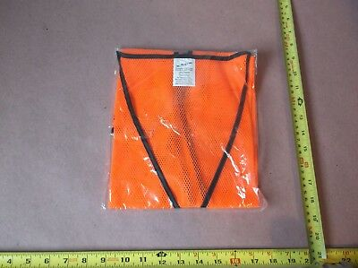 NS Ultrabrite Workwear Hi-Vis Orange Economy Safety Vest (QTY 50)