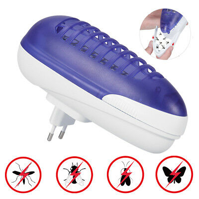 UK Plug Electric UV Insect Killer Mosquito Fly Pest Zapper Catcher Trap Lamp