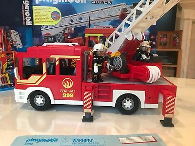 Playmobil 5362 City Action Ladder Unit with Lights and Sound BNIB SHIPS FAST