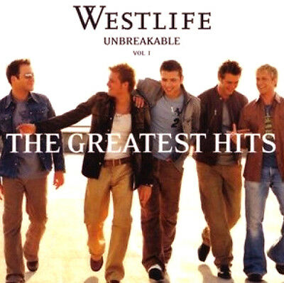 WESTLIFE UNBREAKABLE VOL 1 THE GREATEST HITS (WHITE COVER) CD Album MT/MT/MT