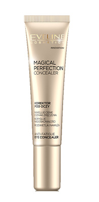 EVELINE COSMETICS MAGICAL PERFECTION ANTI-FATIGUE EYE CONCEALER light or medium