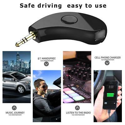 Wireless Bluetooth AUX 3.5mm Audio Stereo Music Home Car Receiver Adapter Kits