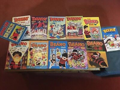 Assorted Beano and Dandy Annuals