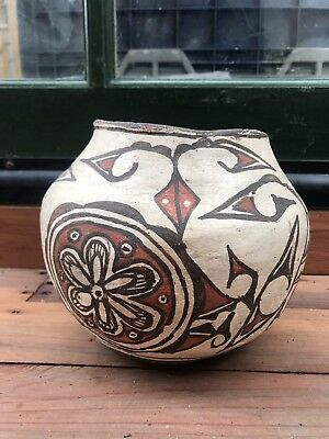 Authentic Zuni Pottery - Olla - Circa 1920