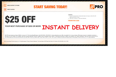 Home Depot 20% Off Coupon Paint Primer In store **INSTANT DELIVERY**