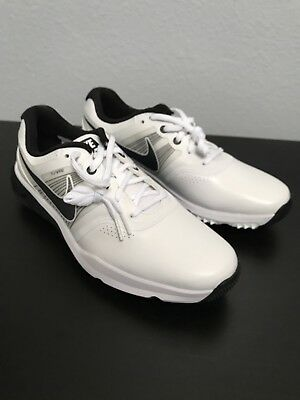 797ac0417ef7 Nike Lunar Command Golf Shoes Men s US 9 White Grey Black 704427-102 NEW
