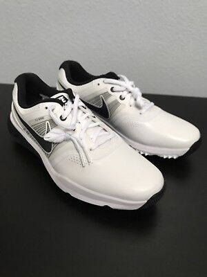 0cad273f5245 Nike Lunar Command Golf Shoes Men s US 9 White Grey Black 704427-102 NEW