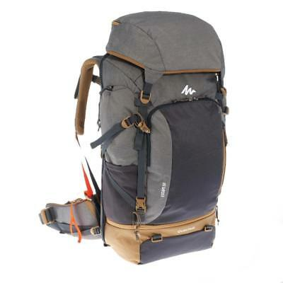 a00a4bb29 QUECHUA FORCLAZ 50 L- Lockable Hiking Camping Water Repellent Backpack  Rucksack